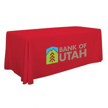 6' Standard Table Throw - Full-Color Personalization Available