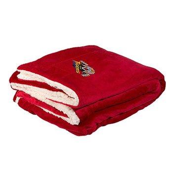 Jumbo Micro-Mink Sherpa Blanket - Personalization Available