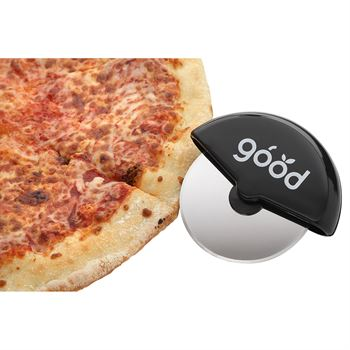 Handheld Pizza Cutter with Stainless Steel Blade - Personalization Available