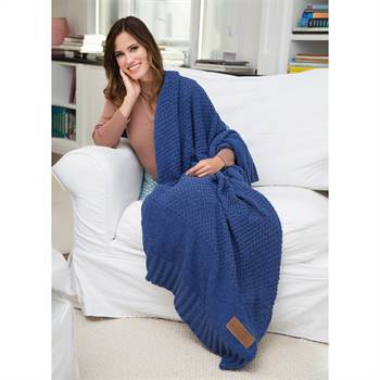 Newport Crochet Knit Blanket - Personalization Available