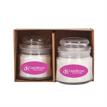 Scented Candle Set - Full-Color Personalization Available