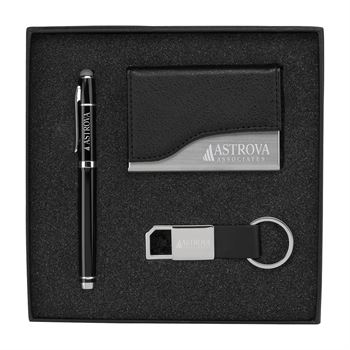 Langley Classic Business 3-Piece Gift Set - Personalization Available