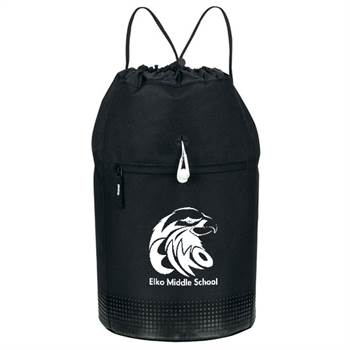 SoundWave Vented Beach / Gym Bag - Personalization Available