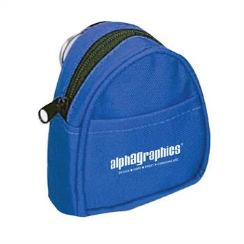 Mini Backpack Shaped Coin Pouch - Personalization Available