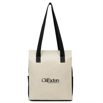 Skyler Coated Cotton Shopper Tote - Personalization Available