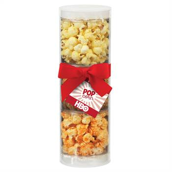 Popcorn Combo Sampler Tube - Full-Color Hangtag - Personalization Available