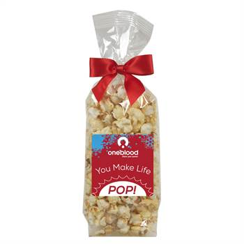 Gourmet Popcorn Gift Bag- Kettle Corn - Personalization Available