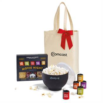 Movie Night Gourmet Popcorn Gift Set - Personalization Available
