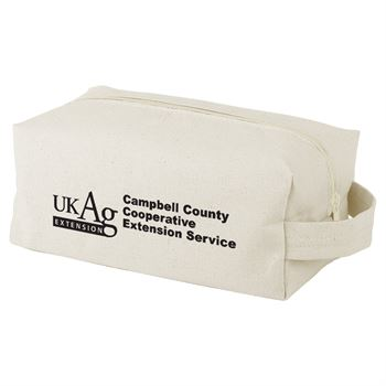 Continued Doppelganger Toiletry Bag - Natural Canvas - Personalization Available