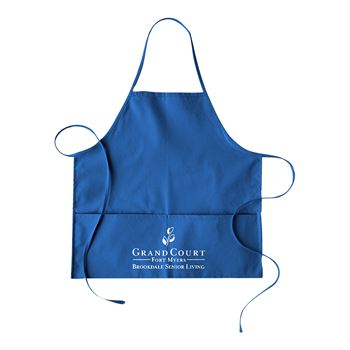 Continued Hot Pockets Apron - Colored Canvas - Personalization Available
