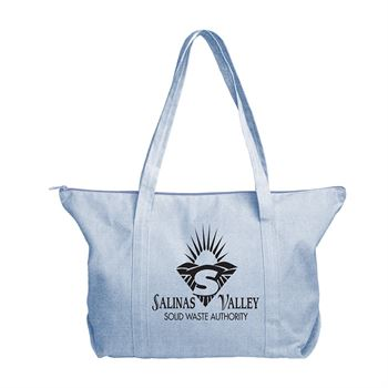 Continued Weekender Tote - Denim Canvas - Personalization Available