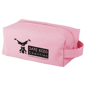 Continued Doppelganger Toiletry Bag - Colored Canvas - Personalization Available