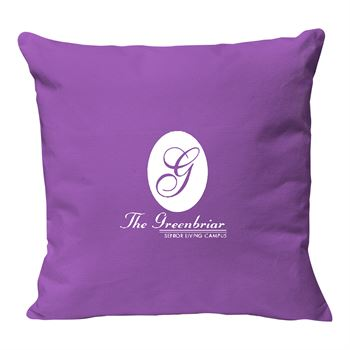 Continued Cuddlebug Throw Pillow - Large - Colored Canvas - Personalization Available