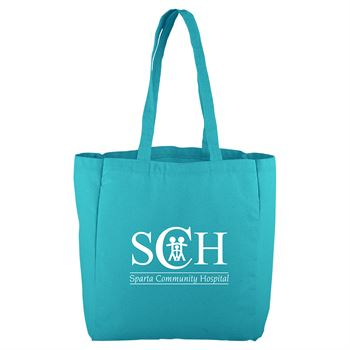 Continued All That Grocery Tote - Colored Canvas - Personalization Available