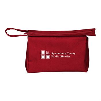 Continued Jetsetter Medium Travel Pouch - Colored Canvas - Personalization Available