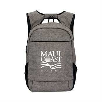 Midtown Anti-theft RFID Laptop Backpack - Personalization Available