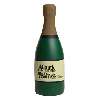 Champagne Bottle Stress Reliever - Personalization Available