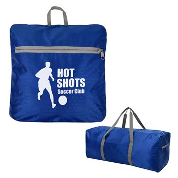 Frequent Flyer Foldable Duffel Bag - Personalization Available