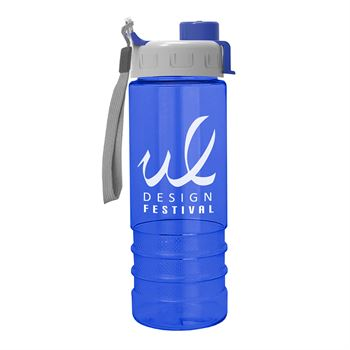 Salute2 Tritan Water Bottle 24 oz. Quick Snap Lid - Personalization Available