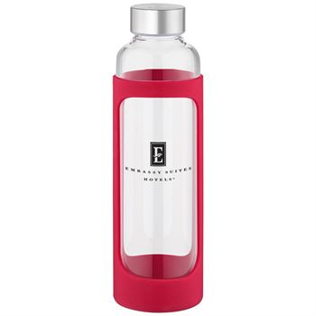 Tioga Glass Water Bottle 20 oz. - Personalization Available