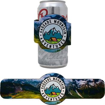 Full Color Round Slap Wrap - Personalization Available