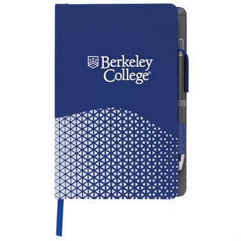 Souvenir Journal With Motive Pen - Personalization Available