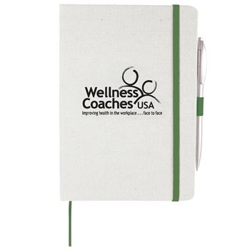 Luna Canvas Notebook - Personalization Available
