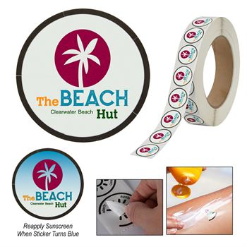 Sunburn Alert Multiple Day Event Sticker - Personalization Available