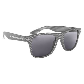 Carbon Fiber Malibu Sunglasses - Personalization Available