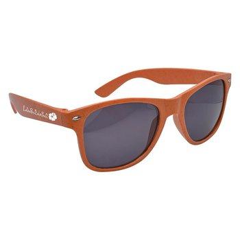Wheat Malibu Sunglasses - Personalization Available
