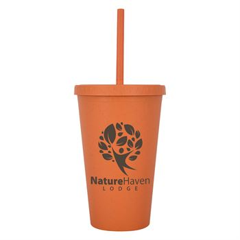Newport Wheat Travel Tumbler 16-Oz. - Personalization Available