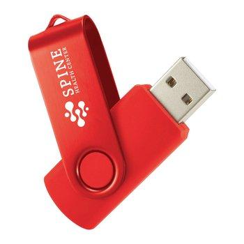 Rotate 2Tone Flash Drive 4GB