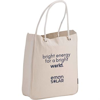 Organic Cotton Canvas Carry-All Tote 6-Oz. - Personalization Available