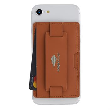 Luxury  RFID Wallet and Phone Holder - Personalization Available