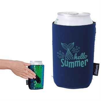 Koozie Sequin Can Kooler - Personalization Available
