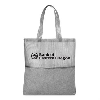Dusk Mesh Tote Bag - Personalization Available