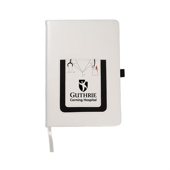 Leeman Medical Theme Journal Book with Cell Phone Pocket