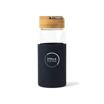 Tahiti Bamboo Glass Bottle 18 oz. - Personalization Available