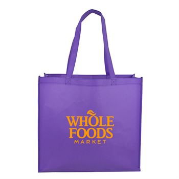 Cosmo Large Matte Laminated Tote Bag - Personalization Available