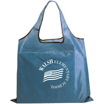 RPET Fold-Away Carryall Tote Bag - Personalization Available