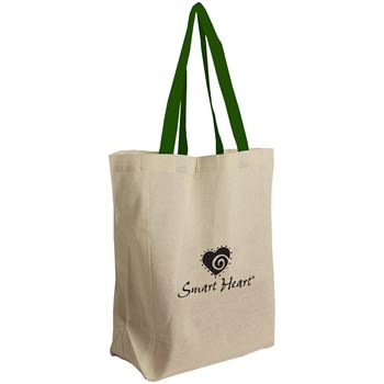 Brunch Cotton Grocery Tote Bag - Full Color- Personalization Available