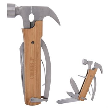 12-In-1 Multi-Functional Wood Hammer - Personalization Available