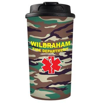 Full Color Coffee Mug Camo - Personalization Available