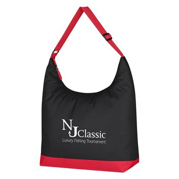 Accent Shoulder Tote Bag - Personalization Available