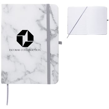 Marbled Notebook - Personalization Available