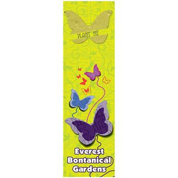 Butterfly Seed Shape Bookmark - Full Color