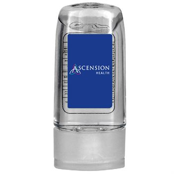 1 Oz Large Travel Hand Sanitizer Gel - Personalization Available