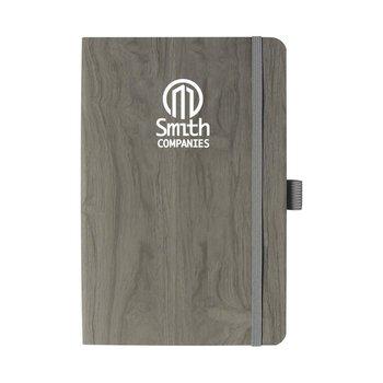 Soft Touch Wood Grain Journal