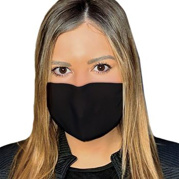 4-Ply 100% Cotton Face Mask With Nose Bridge And Adjustable Ear Loops - Washable & Reusable