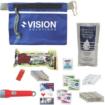 Disaster Prep Emergency Safety Kit - Personalization Available